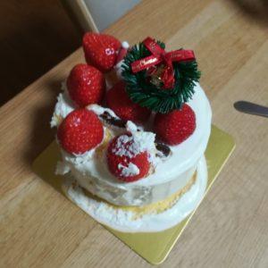 ラグーテのケーキ